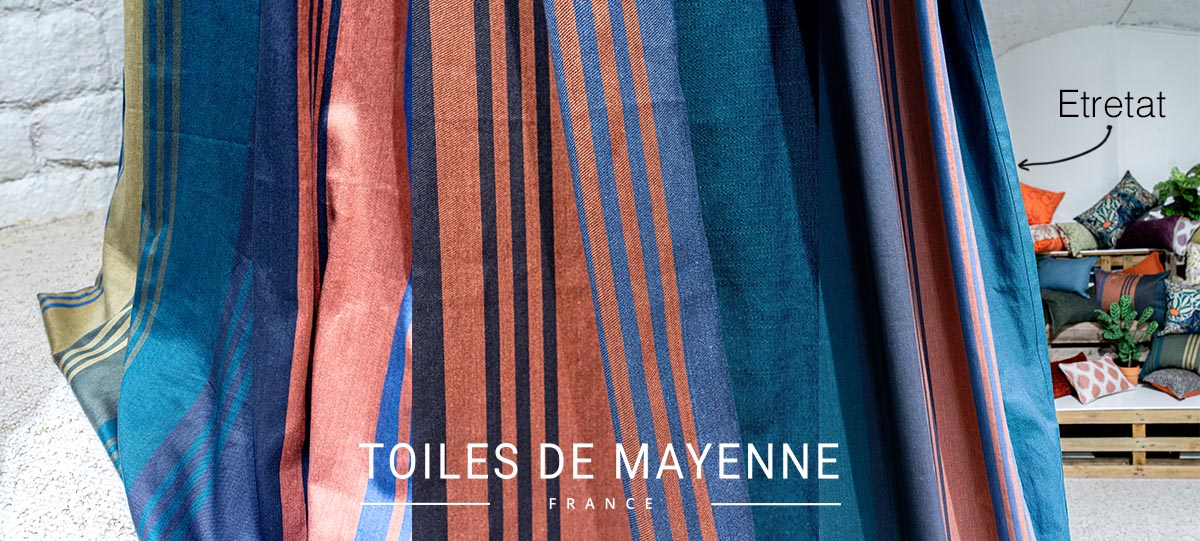 Toiles de Mayenne Nouvelle Collection Végétale Digression